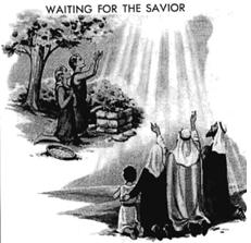 waiting for the saviour