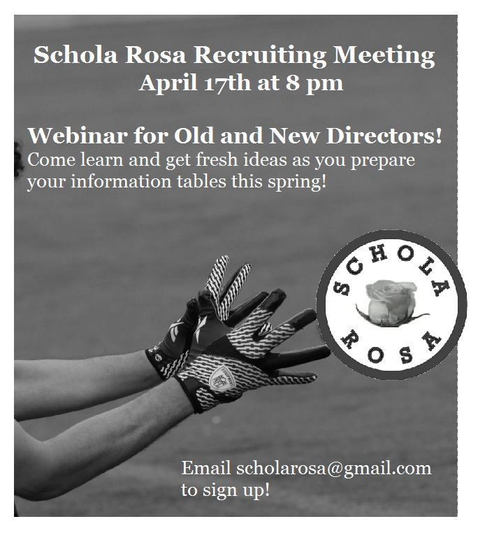 April Recruiting Meeting Graphic