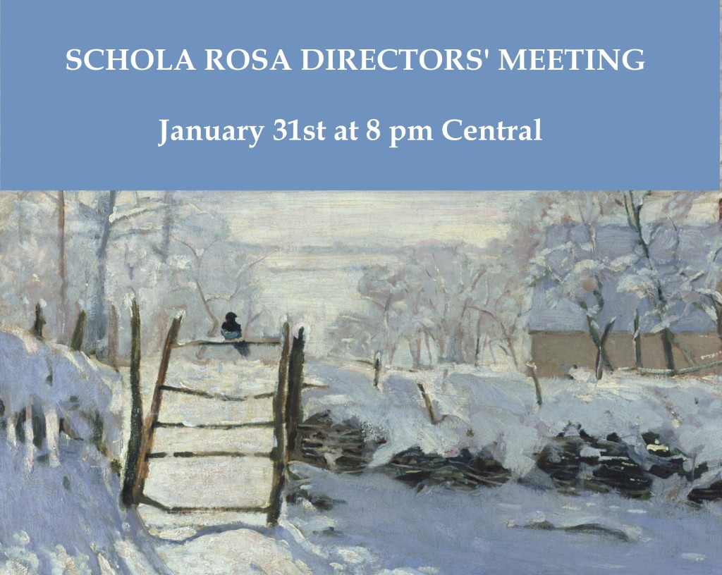 January 31 Director Meeting