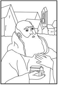 ST Romuald, abbot_edit