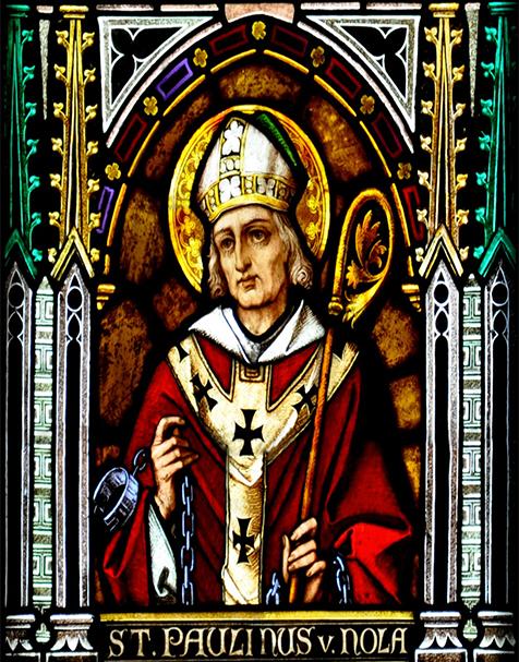 St  Paulinus of Nola image