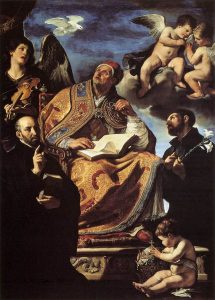 645px-Guercino_-_St_Gregory_the_Great_with_Sts_Ignatius_and_Francis_Xavier_-_WGA10927