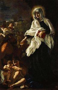 Saint Francesca Romana_Giving_Alms