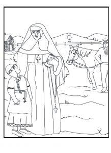 Saint Katherine Drexel March 1