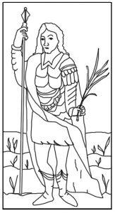St George, Martyr April 23