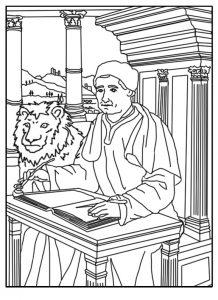 St Mark , Evangelist April 25