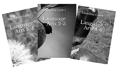 Cycle 1 Language Arts